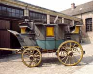 voiture hippomobile, road coach (park drag)